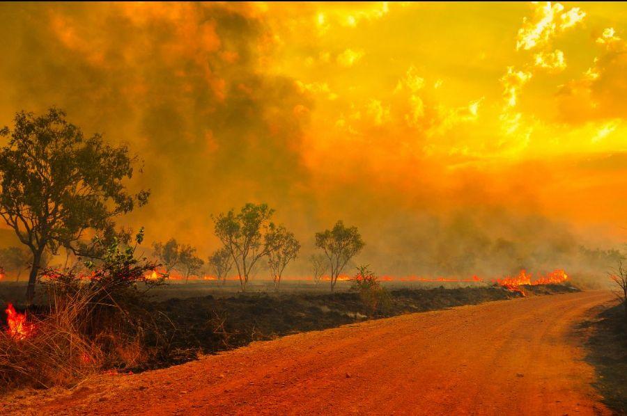 Fires across Australia