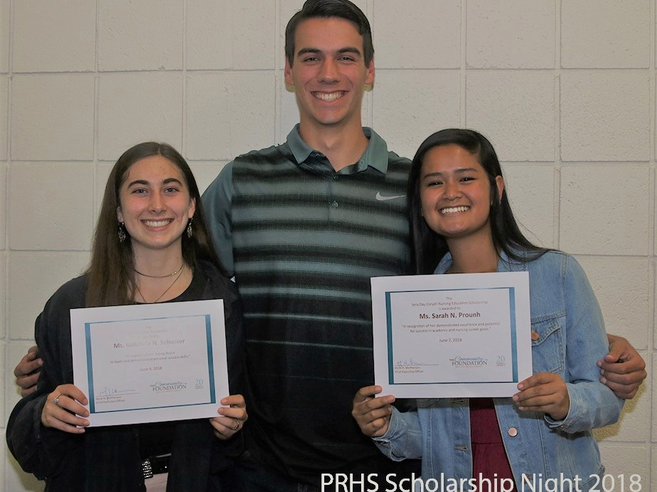 Paso Robles High School scholarship recipients