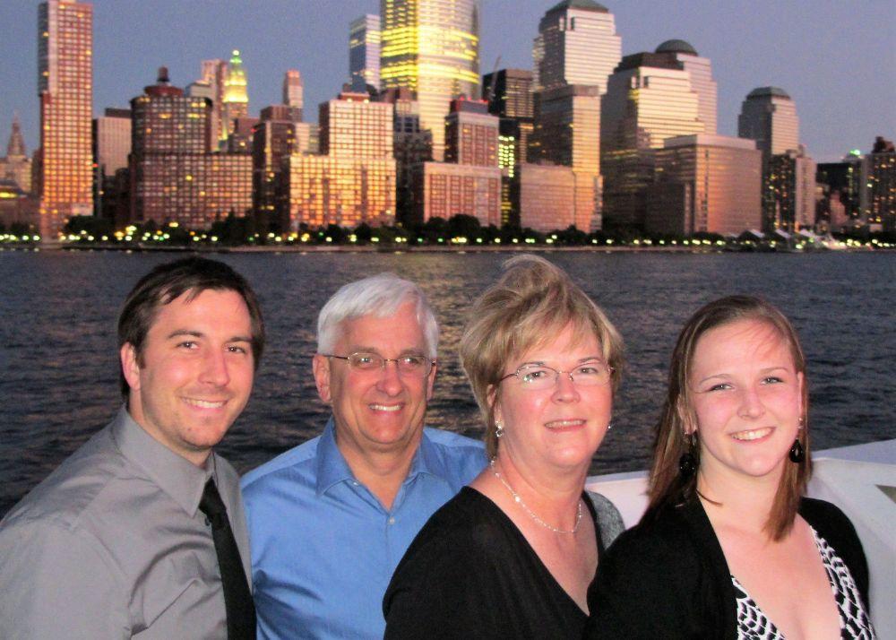 Jeff, Bill, Jennifer and Jessica Thoma
