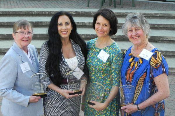 2015 WOD Award Honorees Biz Steinberg, Lisa Ray, Jill Bolster-White, Grenda Ernst