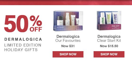 50% off Dermalogica