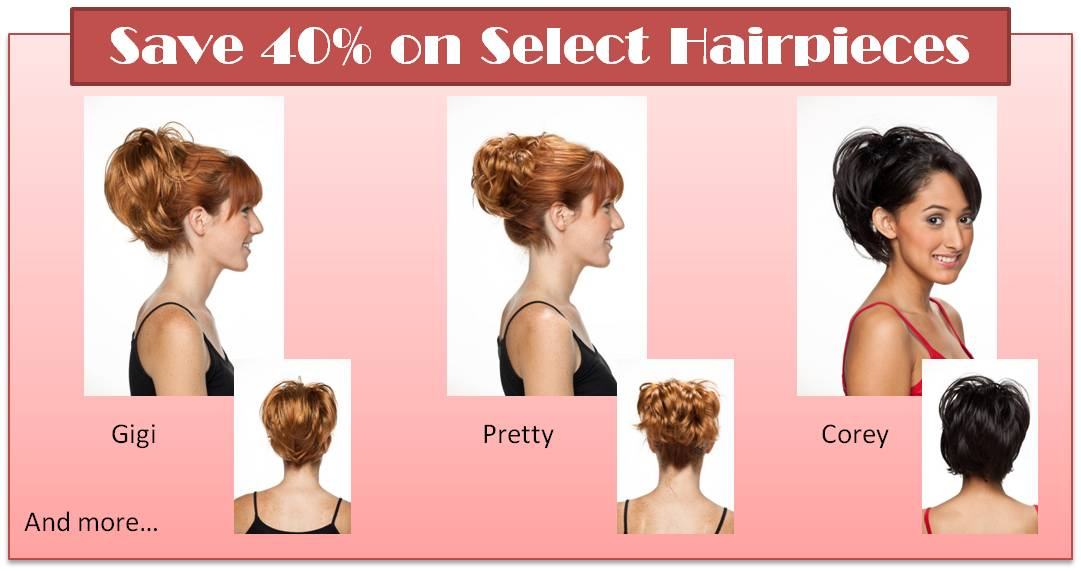 Sale Hairpiece Styles The Hair Lady