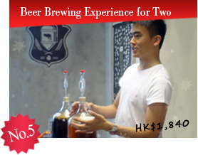No.5 Beer Brewing Experience for Two $1,840
