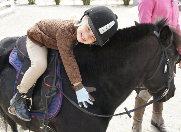 Horse Riding Kids Party