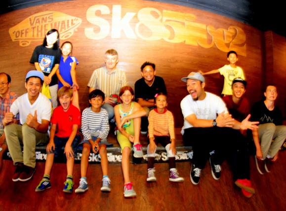 Kids Skateboarding Party