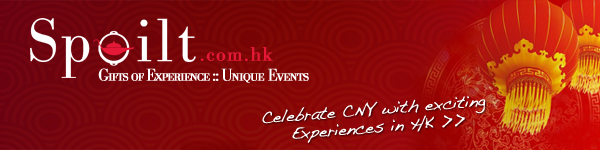 Spoilt- Celebrate CNY with exciting Experiences in Hong Kong