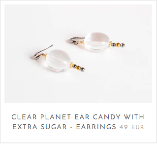 Clear Quartz Healing Properties in Earrings