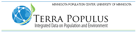 Terra Populus: Integrated Data on Population and Environment