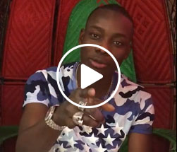 New to StarNews, Sidiki Diabate, tells his fans to follow him for exclusive access.