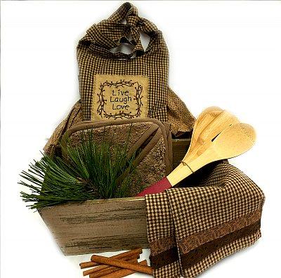 Shades of Brown Kitchen Gift Set