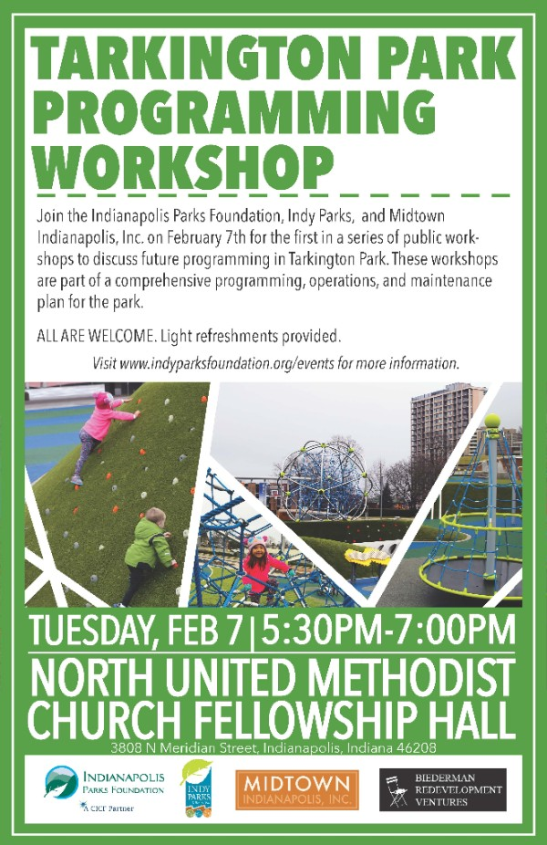 Tarkington Park Programming Workshop