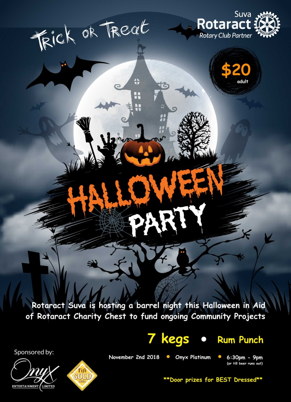 [ Rotaract Suva Halloween Flyer ]