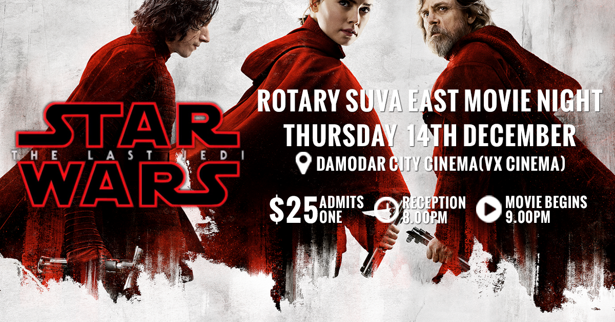 [ Star Wars 14th Dec Tix $25 ]
