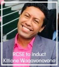[ RCSE to induct Kitione Waqavonovono ]