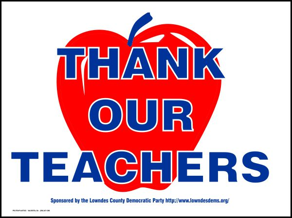 Thank Our Teachers