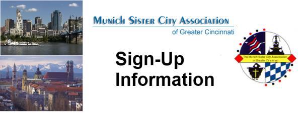 Sign-Up Information