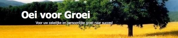 Oei voor Groei: Voor zakelijk en persoonlijke groei naar succes!