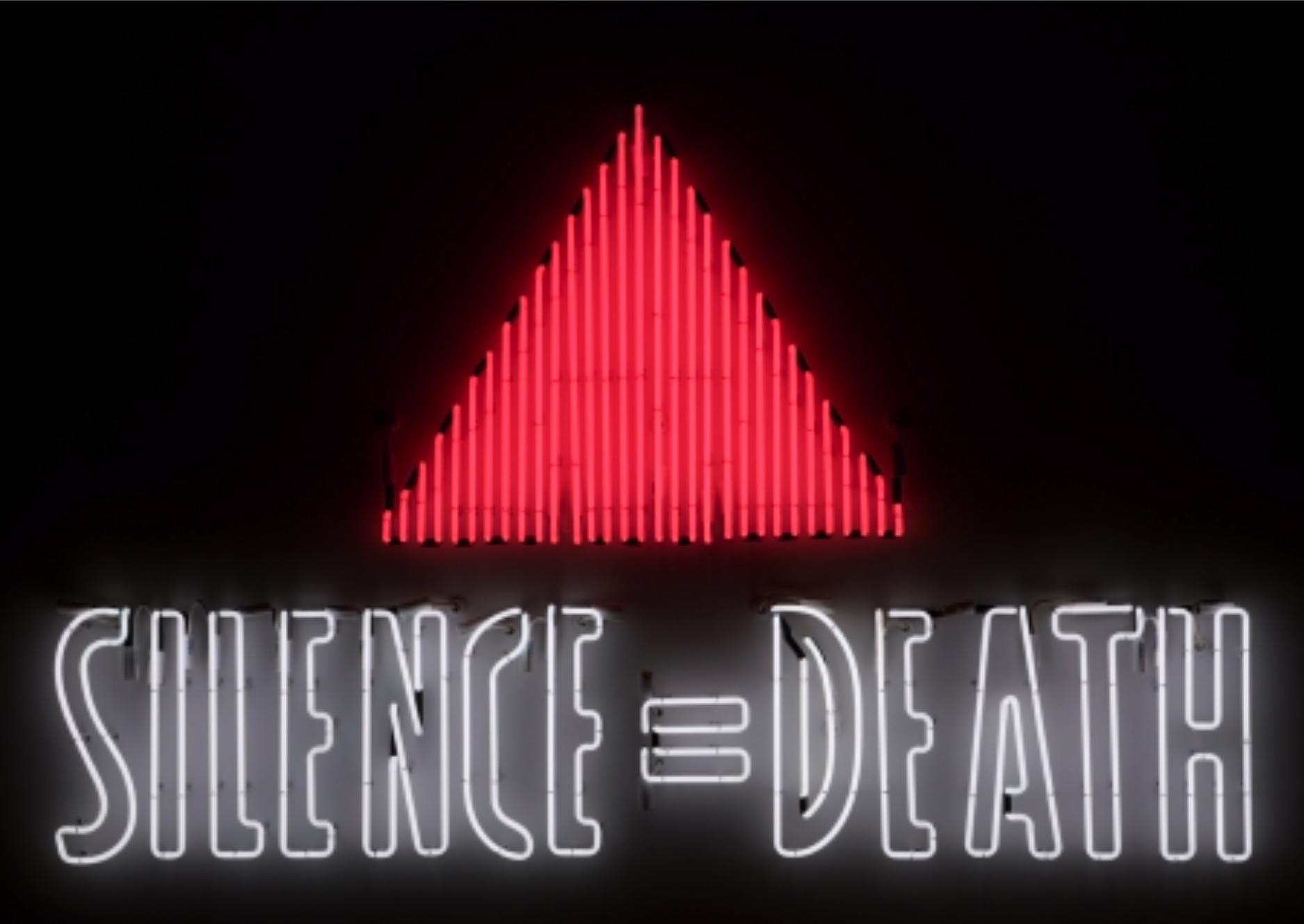 Gran Fury, Silence=Death, 1987