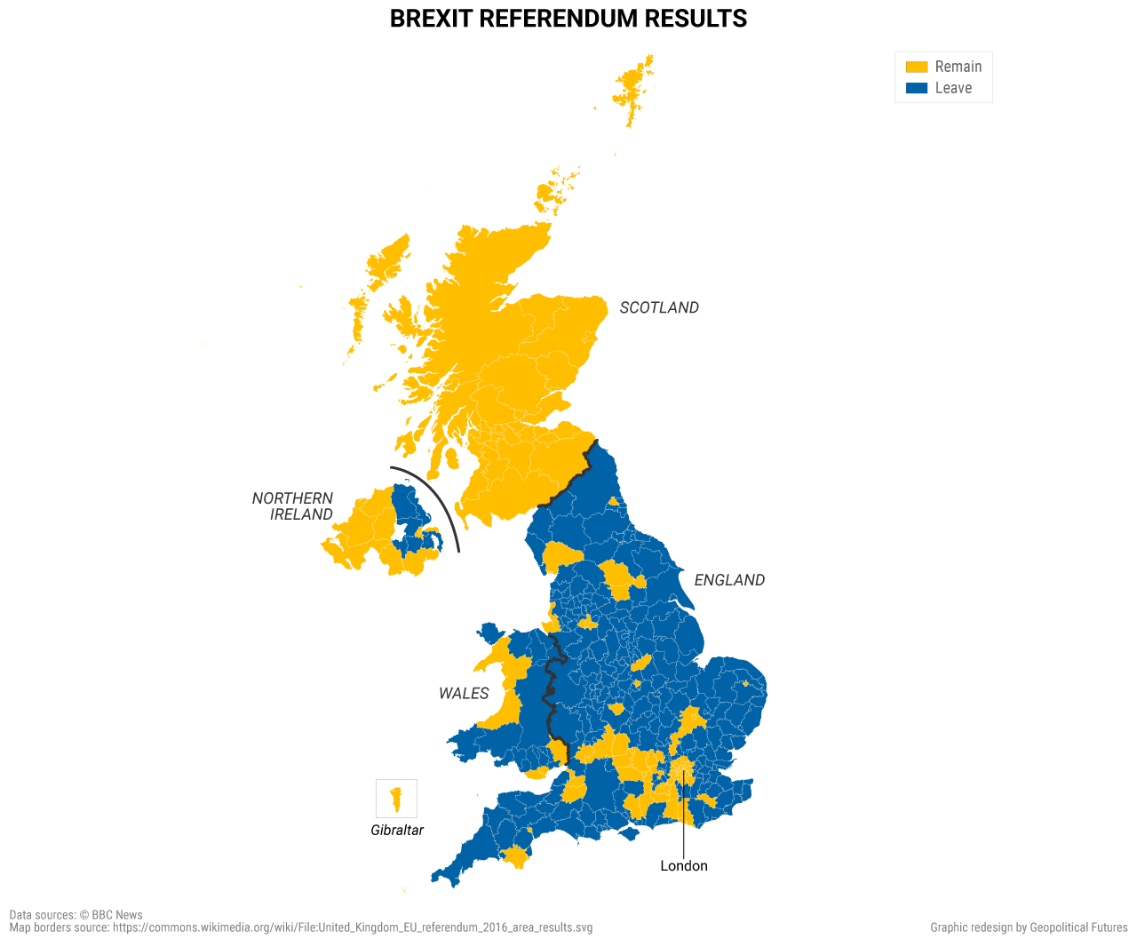 Brexit Referendum Results