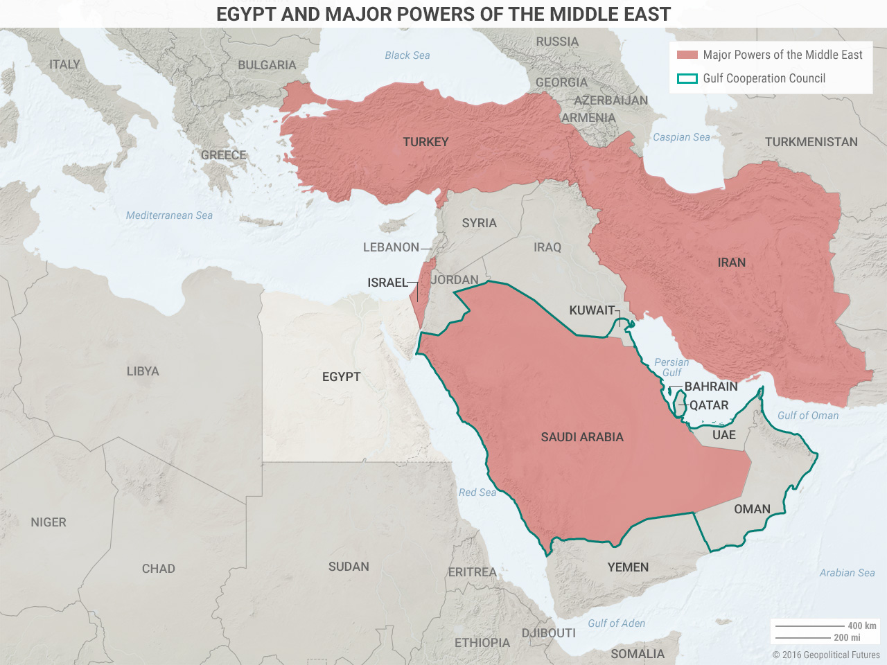 Egypt and Major Powers of the Middle East