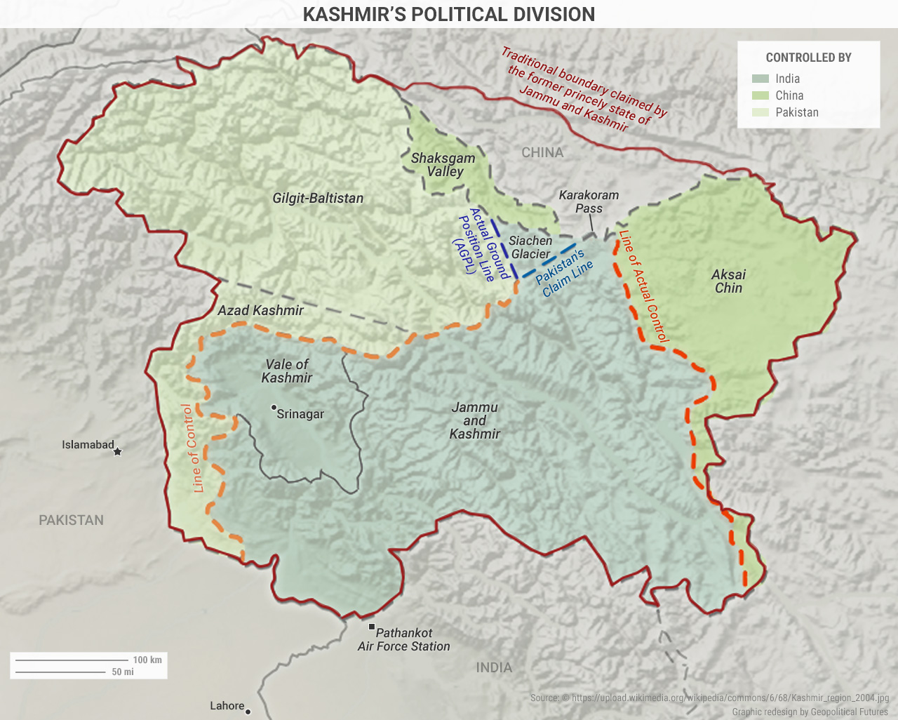 Kashmir's Political Division