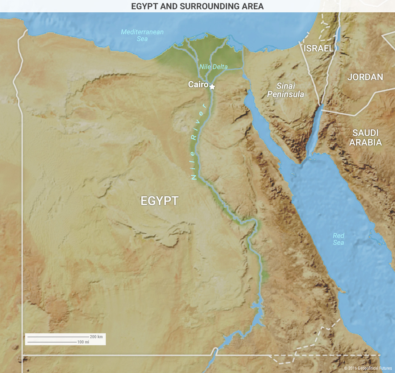 Egypt and Surrounding Area