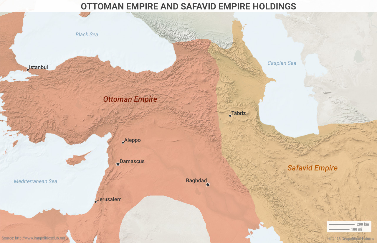 Ottoman Empire and Safavid Empire Holdings