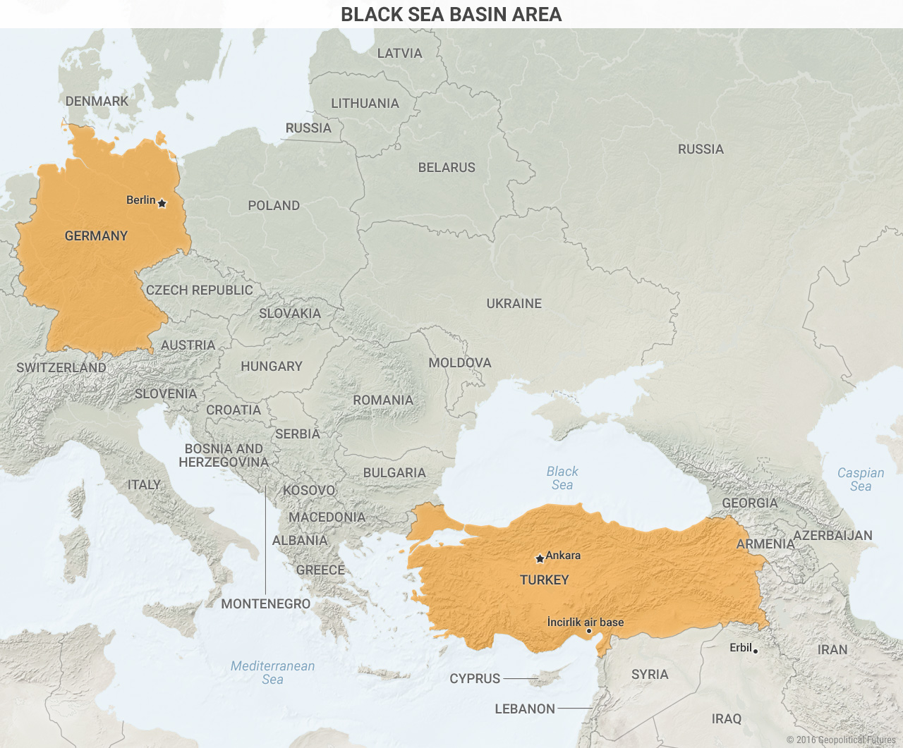 Black Sea Basin Area