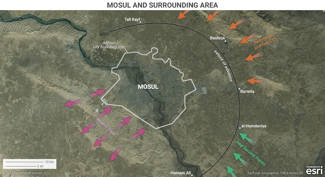 Mosul and Surrounding Area