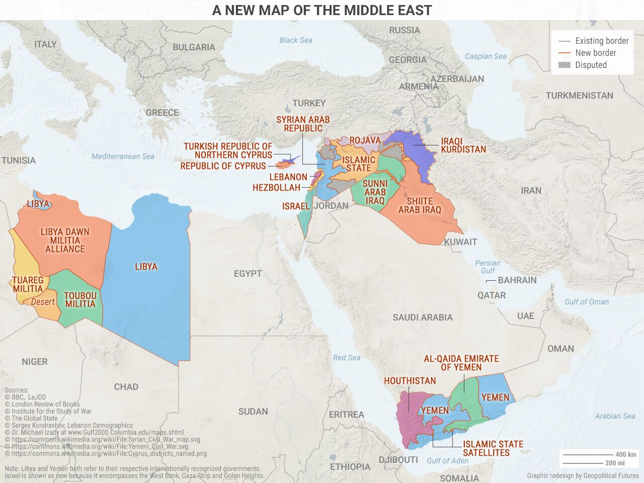 A New Map of the Middle East