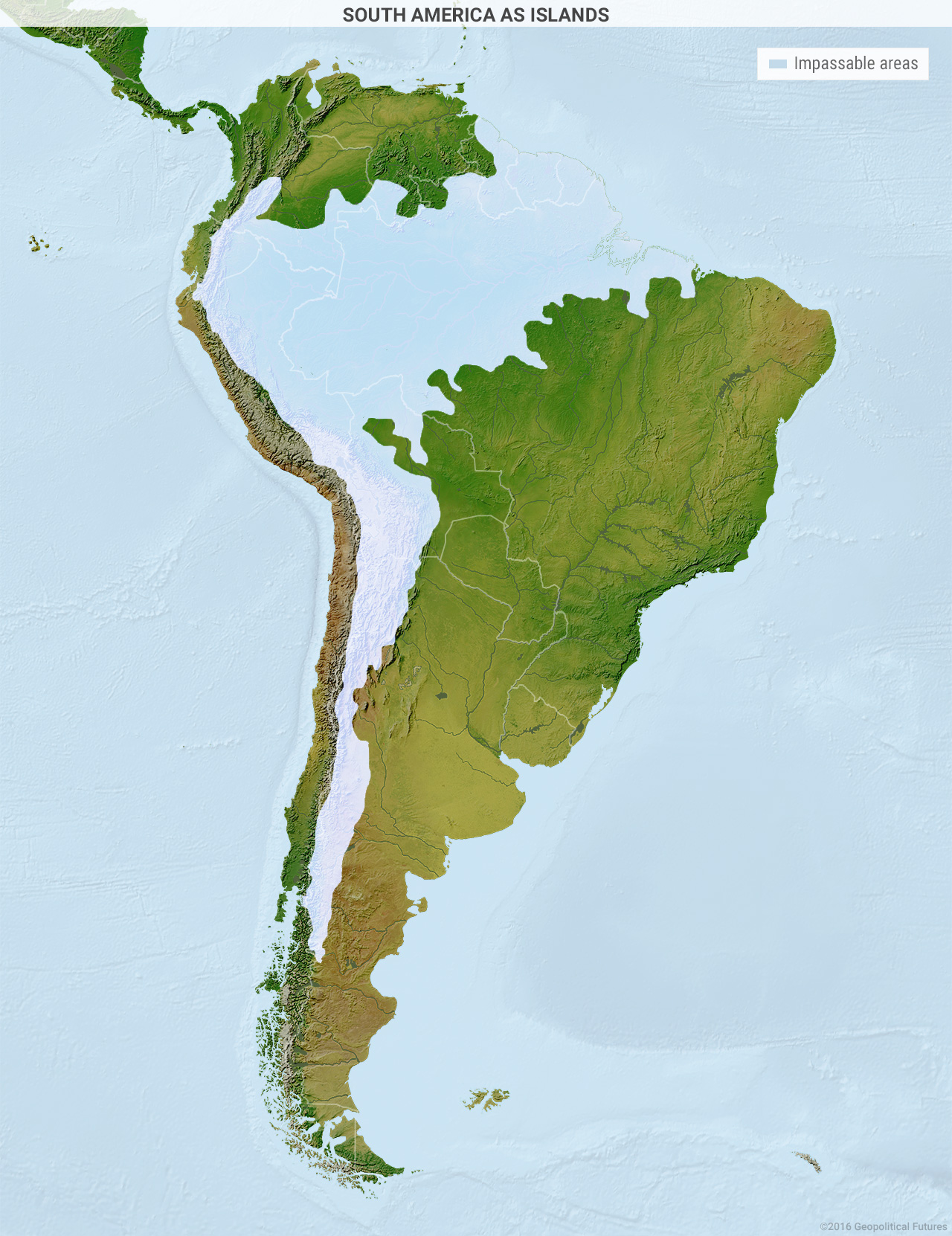 South America as Islands