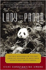 Book Cover of Lady and the Panda for Book Review By C.S. White