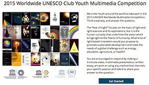 UNESCO Club Youth Multimedia Competition