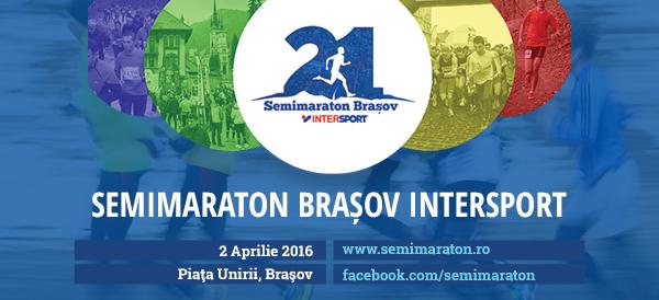START INSCRIERI, Semimaraton Brasov Intersport, editia a III-a - 5 Aprilie 2014