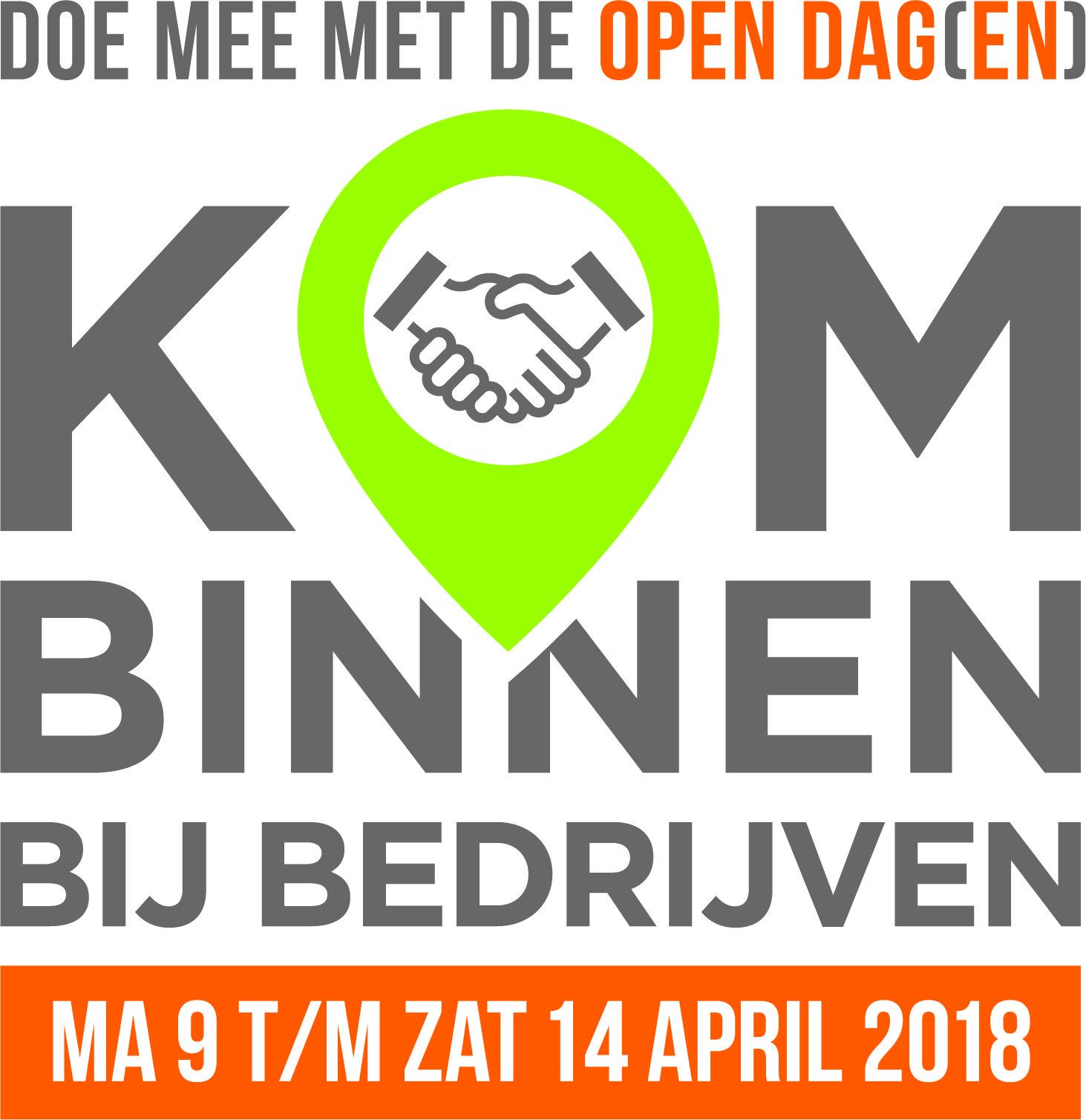 Vodavi deelnemer 'Kom binnen bij Bedrijven' op vrijdagmiddag 13 april 2018