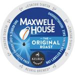Maxwell House Original Roast K-Cup lid