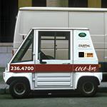 Tiny Convenience Coffee delivery van
