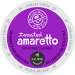 Coffee Bean & Tea Leaf toasted amaretto K-Cup lid graphic