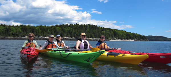 Kayak trips are a Saturday lunch picnic and Wednesday sunset cruise. Contact Julie Hagel at purplejuliana@yahoo.com.