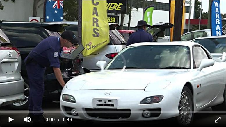 Police Raids on Sydney Dealers video image