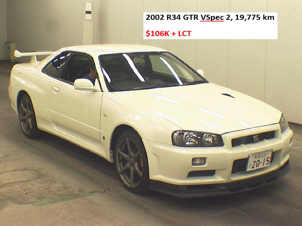 2002 R34 GTR V Spec 2