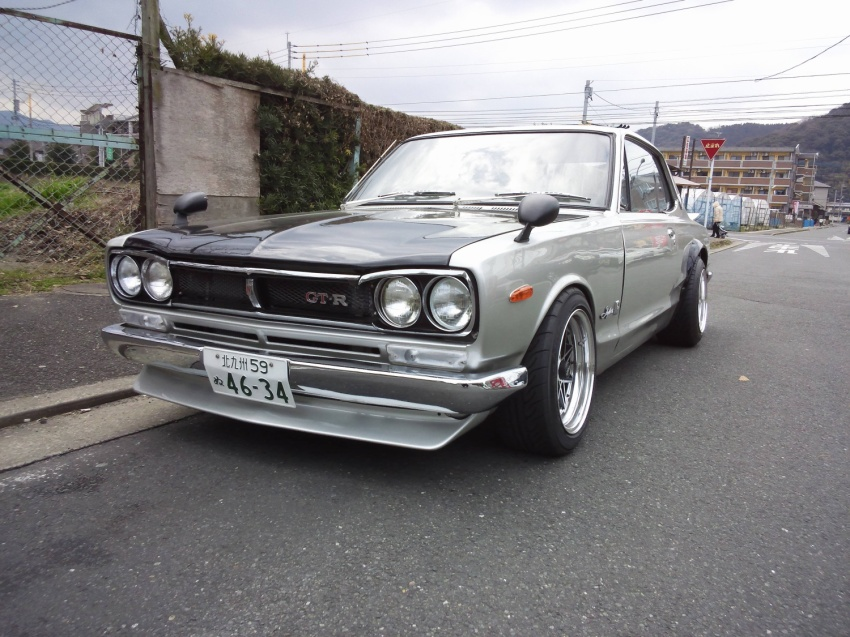 Classic Japanese Import Cars 1972 Nissan Skyline KGC10 2000GT coupe GTR replica