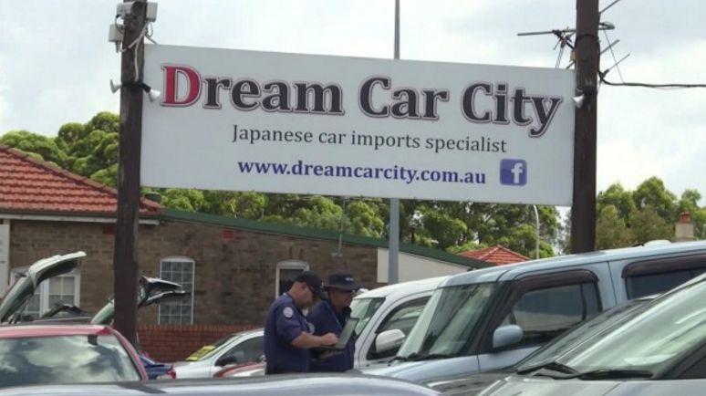Police Raids on Sydney Dealers Dream Car City