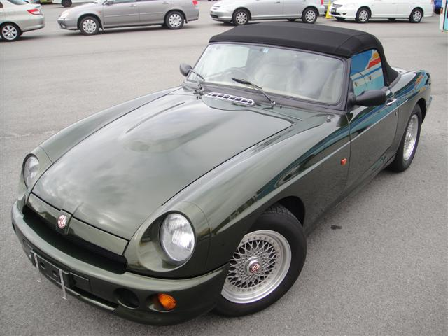 Classic Japanese Import Cars 1995 MG RV8, 19,700 kms