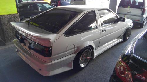 Classic Japanese Import Cars 1987 Toyota Sprinter GT APEX Trueno