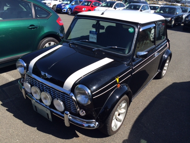 Classic Japanese Import Cars 1998 Rover Mini Cooper BSCC LTD
