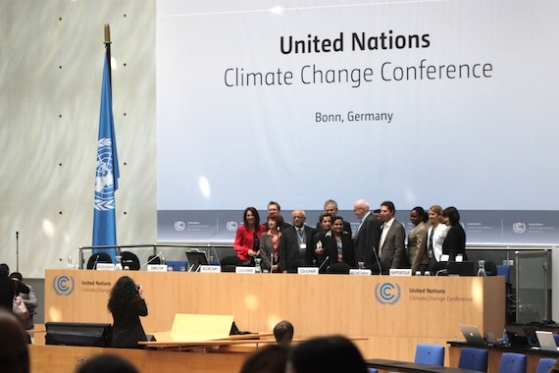 Day 5 of the Bonn Climate Change Conference