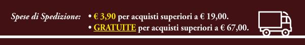 Spese di Spedizione da € 3,90 / Gratuite