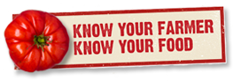 USDA Know Your Farmer, Know Your Food logo