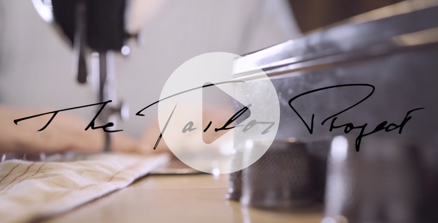 Image of the Title of The Tailor Project documentary